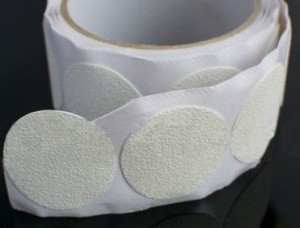 Anti-Slip tape tub stickers - white rounds