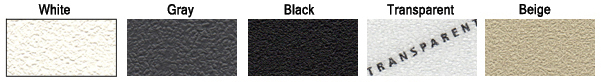 Non-Abrasive Anti-Slip Tape colors