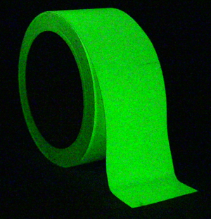 Photoluminescent Egress Tape