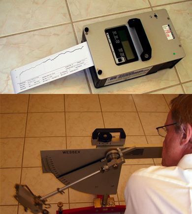 Floor Slip Resistance Test