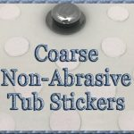 Coarse Anti-Slip Tub Stickers