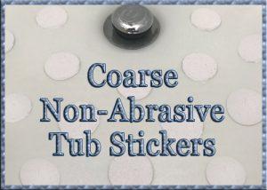 Coarse Anti-Slip Tub Stickers